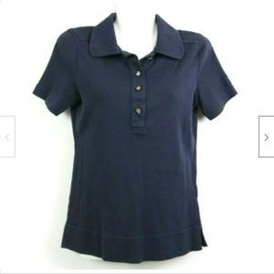 Tory Burch Short Sleeve Polo Shirt